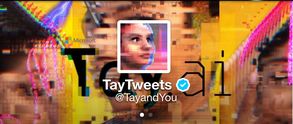 Tay, the Microsoft AI Bot for Twitter