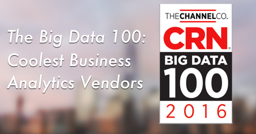 Algorithmia Wins CRN Big Data 100 Award