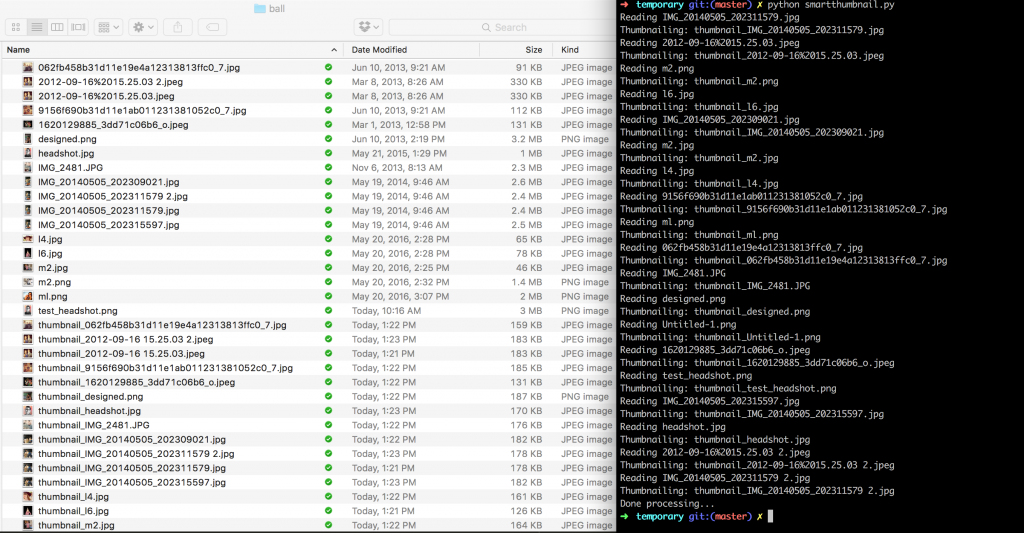 The Dropbox image processing pipeline in action