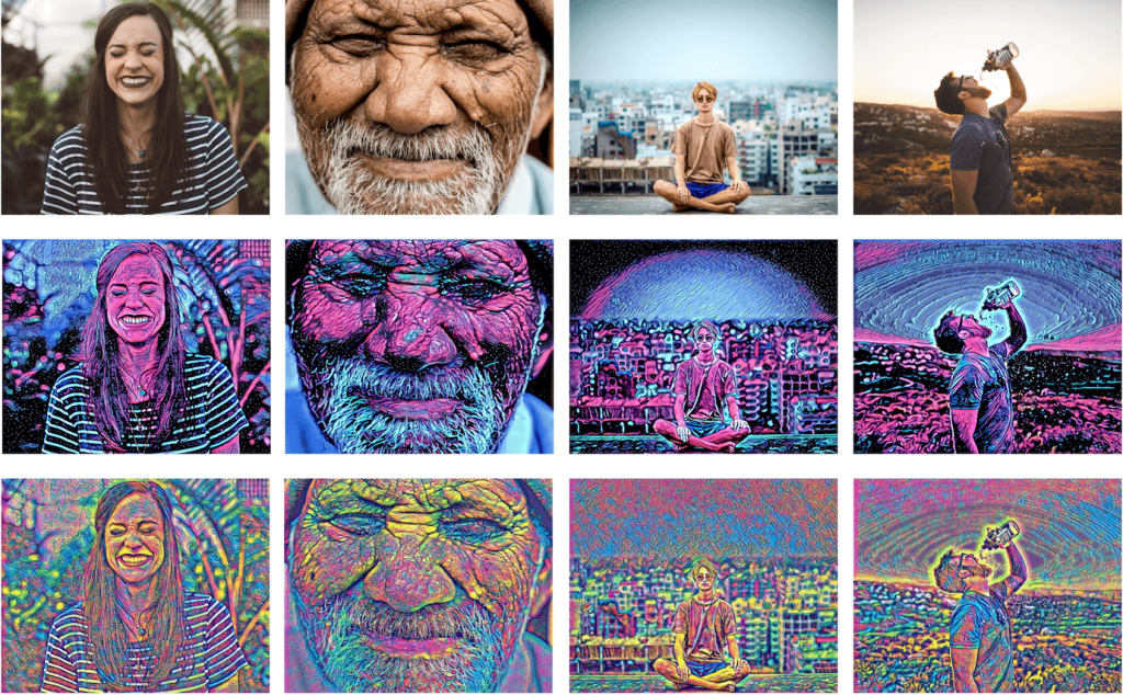 Neural Art with DeepFilter