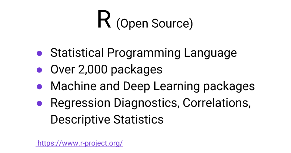 Machine learning resources in R