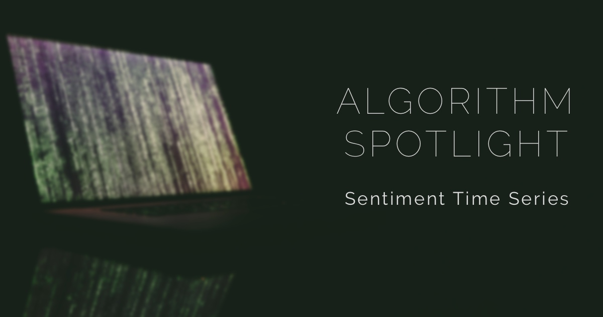 Analyzing Sentiment Over Time