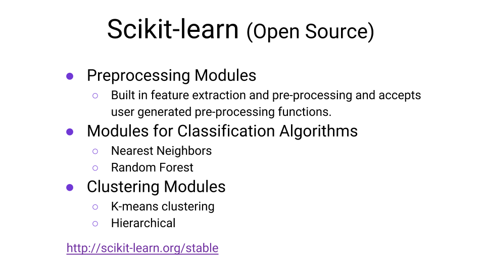 Scikit-learn machine learning resources