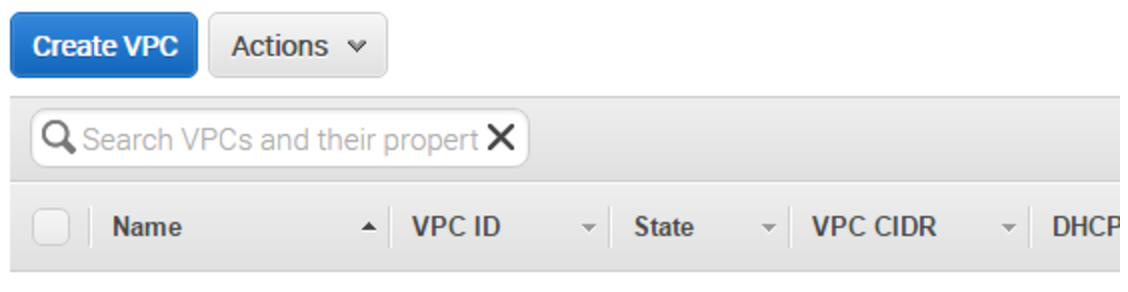 Create Your VPC