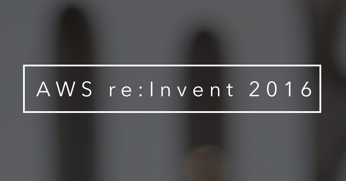 Algorithmia at AWS re:Invent 2016
