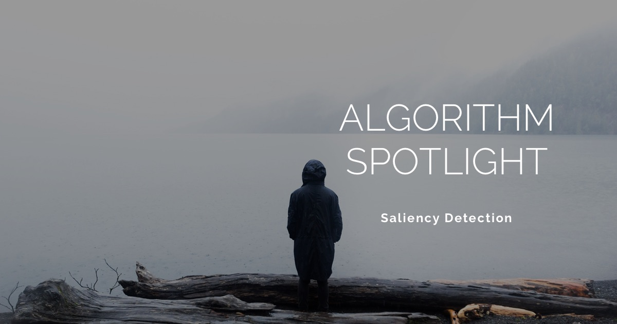 An algorithm for saliency detection