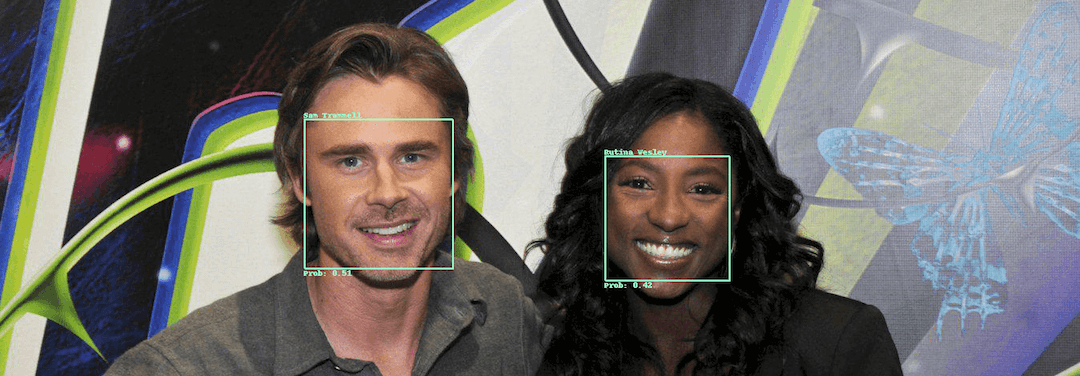 Sam Trammell and Rustina Wesley