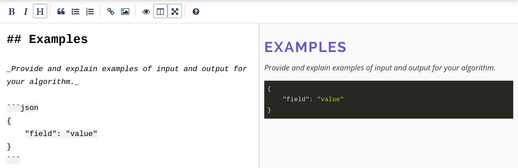 Markdown Editing with Preview