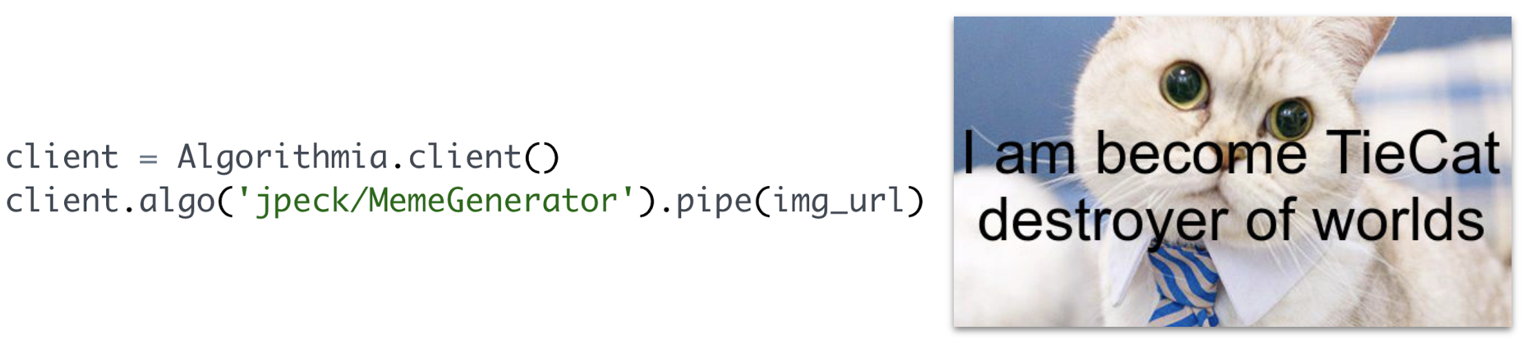 making pipelines available for use by others