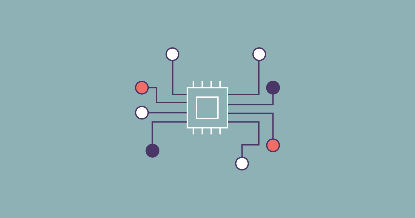 depiction of a basic neural network