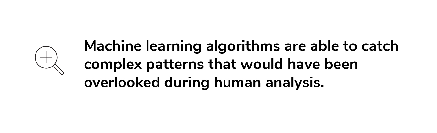 How machine learning mimics human analysis.