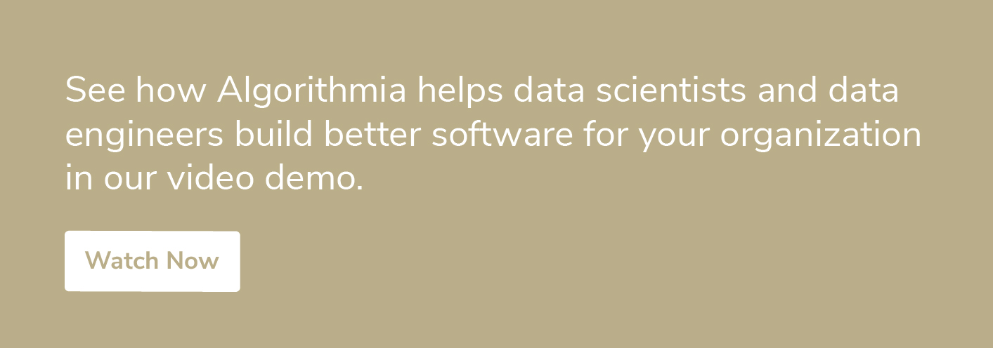 Learn more about Algorithmia call to action