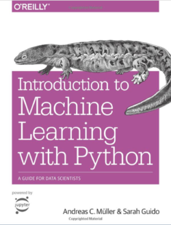 Introduction to Machine Learning with Python book cover