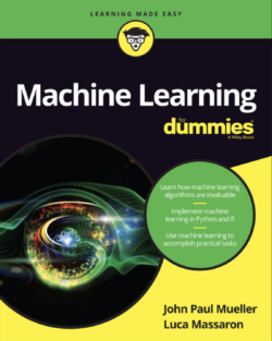 Machine Learning for Dummies book cover