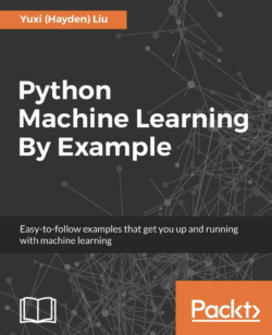 Python Machine Learning By Example book cover